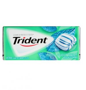 TRIDENT MINTY SWEET GUM
