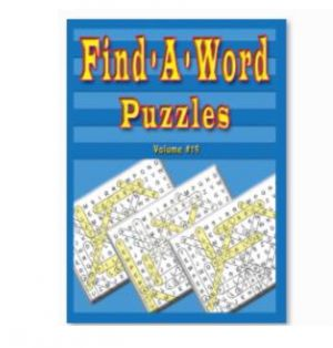 FIND A WORD PUZZLE BOOK