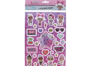 LOL Surprise Sticker 1 sheet