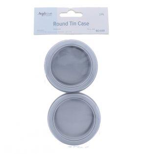 ROUND TIN CASE WITH WINDOW 2 PACK 60 ML