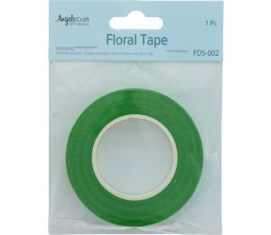 FLORAL TAPE LIGHT GREEN 12 MM