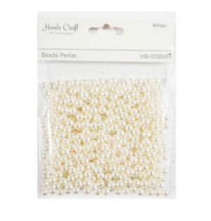 PEARL BEADS 6 INCH  400 PCS