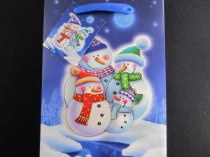 CHRISTMAS SMALL BAG SNOWMAN