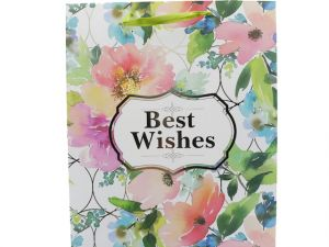 BEST WISHES GIFT BAG MEDIUM SIZE