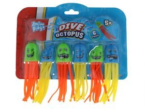 DIVE OCTOPUS 6 PIECES