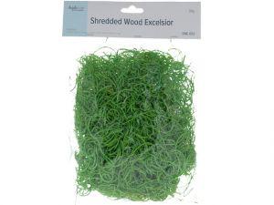 GREEN SHREDDED WOOD