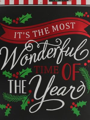 ITS THE MOST WONDERFUL TIME OF THE YAER