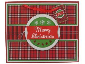 MERRY CHRISTMAS MEDIUM GIFT BAG
