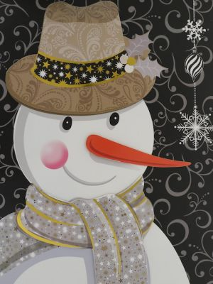 SNOWMAN CHRISTMAS LARGE BAG