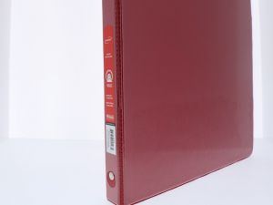 RED 0.5 INCH BINDER