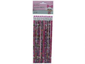 LOL Surprise Pencils 10 Count