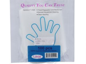 DISPOSIBLE GLOVES 100 COUNT
