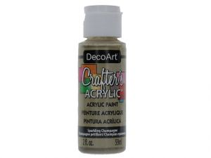 CHAMPAGNE CRAFT ACRYLIC PAINT SPARKLING