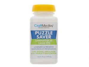 Craft Medley GL600 Non-Toxic Puzzle Saver With Trowel Applicator 4 Ounce
