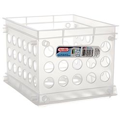 STERILITE #1695 MINI CRATE CLEAR