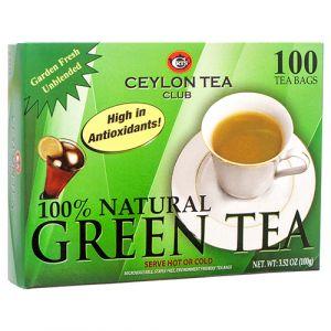 GREEN TEA 100CT GLOBAL