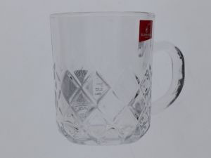 TEA GLASS WITH LINES