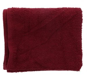 RED HAND TOWEL 16 X 27 INCHES