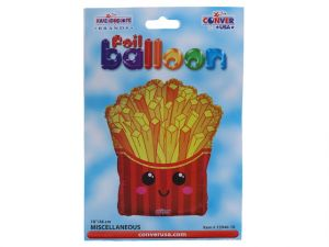 FRENCH FRIES MYLAR BALLOON 18 INCH