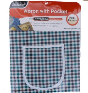 APRON WITH POCKET 19.7 INCH X 28.7 INCH