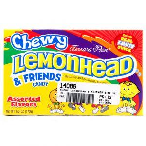 LEMONHEAD FRIENDS CHEWY ASST FLVR 6Z