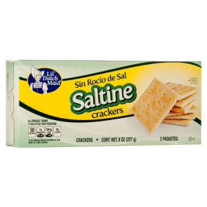 UNSALTED CRACKERS 8Z