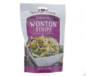 KITCHEN FIXINS WONTON STRIPS 631001