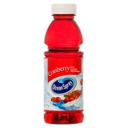 OCEAN SPRAY CRANBERRY JUICE 15.2 OZ