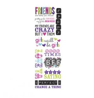 FRIENSHIP STICKERS 10 PC