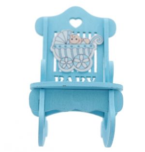 ROCKING CHAIR BLUE DCOR