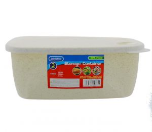 STORAGE CONTAINER 3 PACK 300 ML 50 ML 1.25 L