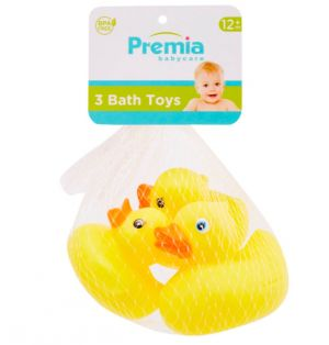 BABY CARE 3 PACK MINI BATH TOYS