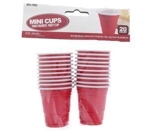 MINI SHOT CUPS 2 OZ 20 COUNT