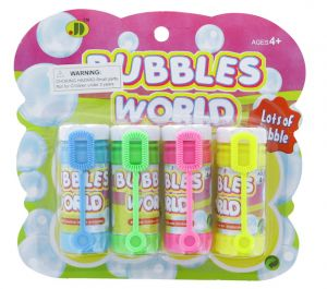 BUBBLES 4 PACK