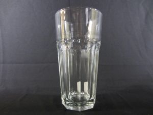 ICE TEA GLASS CLEAR 16 oZ height 6.5