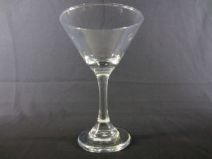 MARTINI GLASS 9.5Z height 6.5&ampampquot