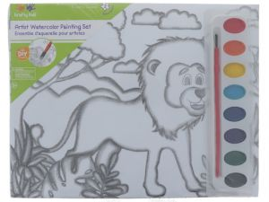ZOO WATERCOLOR PAINTING SET