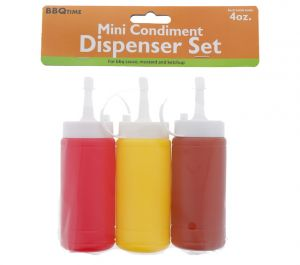 MINI CONDIMENT DISPENSER SET