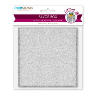FAVOR BOX1 PACK 3.3 X 3.3 X 1.5 INCH
