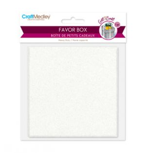 FAVOR BOX 1 PACK 3.3 X 3.3 X 1.5 INCH