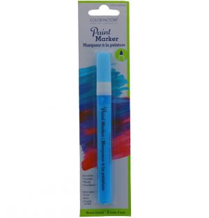 BLUE WATER BASED PAINT MARKER