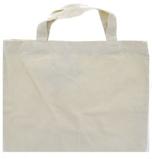 TOTE CANVAS BAG 10 X 13 INCHES