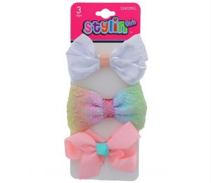 KIDS BOW 3 PACK