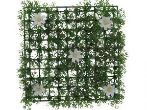 GRASS MAT WITH FLOWER 9.75 X 9.75 INCH