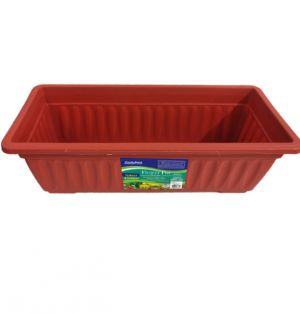 FLOWER POT PLANTER 17.13 X 7.48 X 5.5 INCH