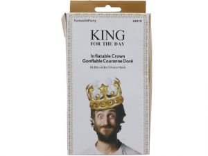 INFLATABLE KING CROWN