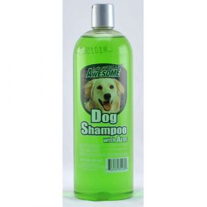 AWESOME DOG SHAMPOO WALOE 32Z