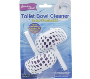 TOILET BOWL CLEANER AND AIR FRESHENER