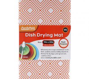 DISH DRYING MAT 15 X 20 INCH