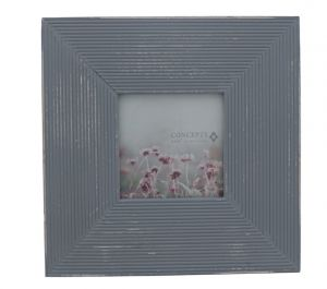 WASHED GRAY FRAME 4 X 4 INCH